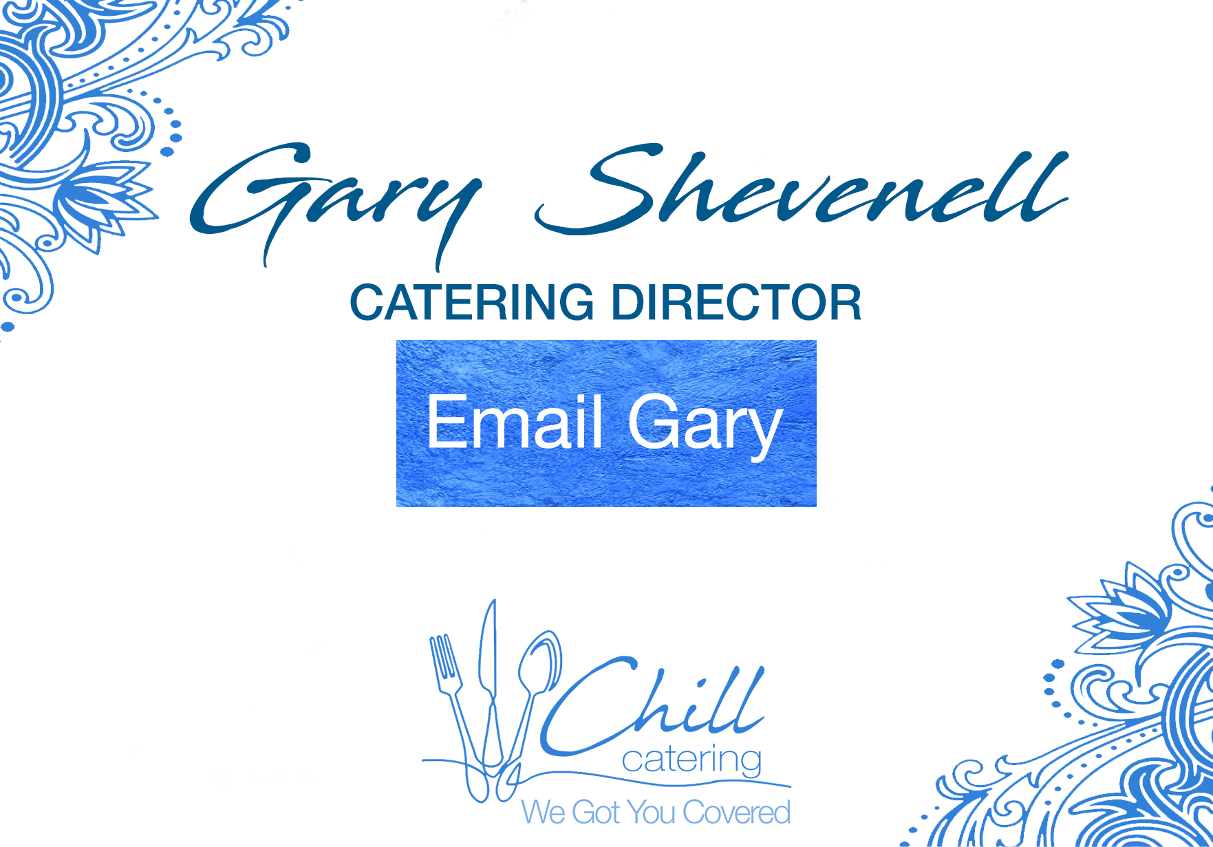 catering manager portsmouth gary shevenell